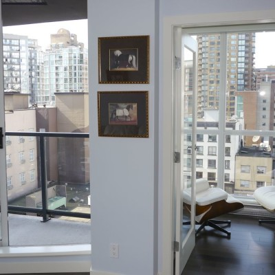 Welcome to the open house on April 25th and 26th from 1-5 pm at 908 -1155 Seymour street, Vancouver BC
